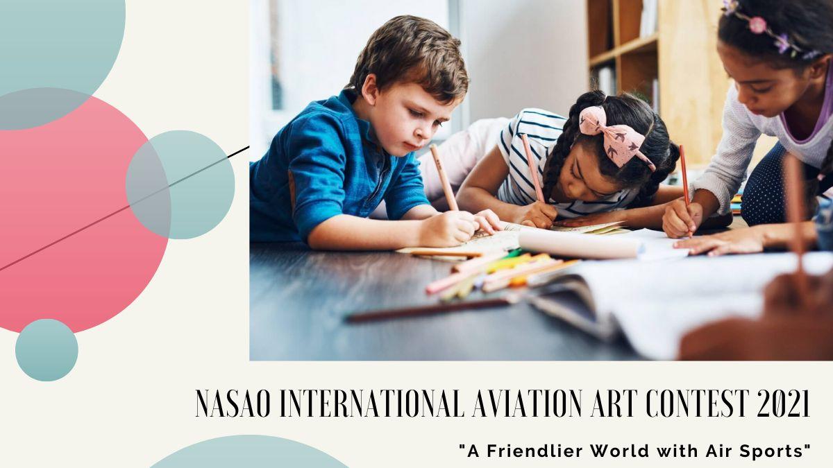 NASAO International Aviation Art Contest 2021