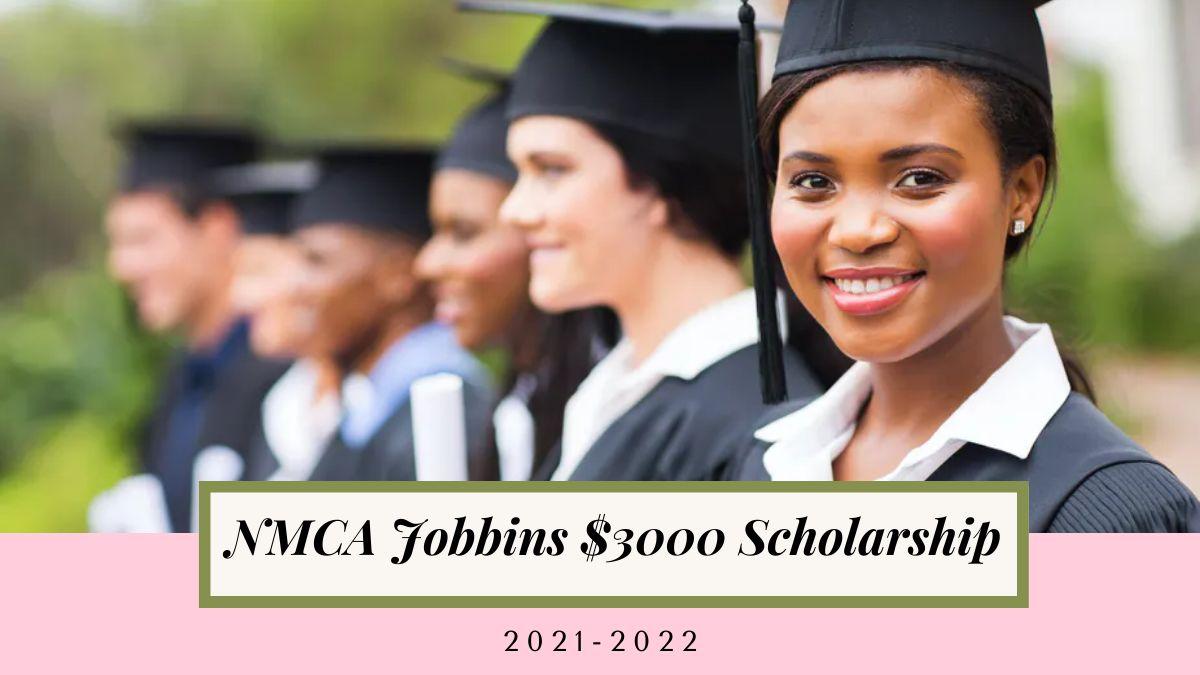 NMCA Jobbins $3000 Scholarship