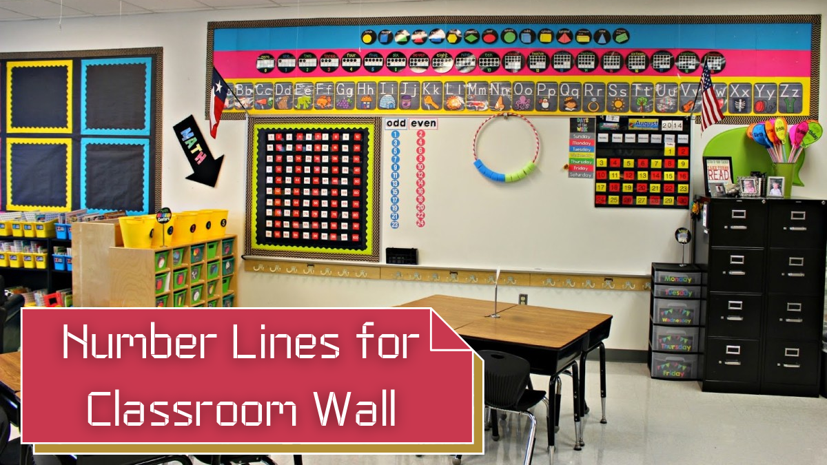 Number Lines for Classroom Wall