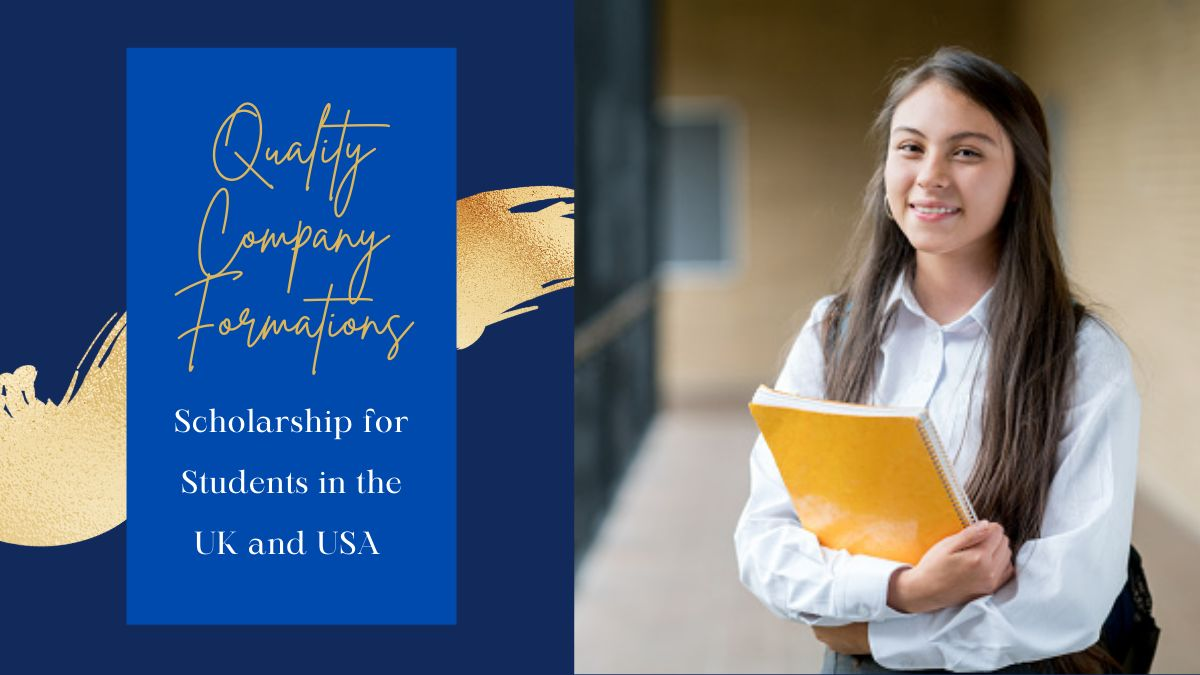 Quality Company Formations Scholarship for Students in the UK and USA