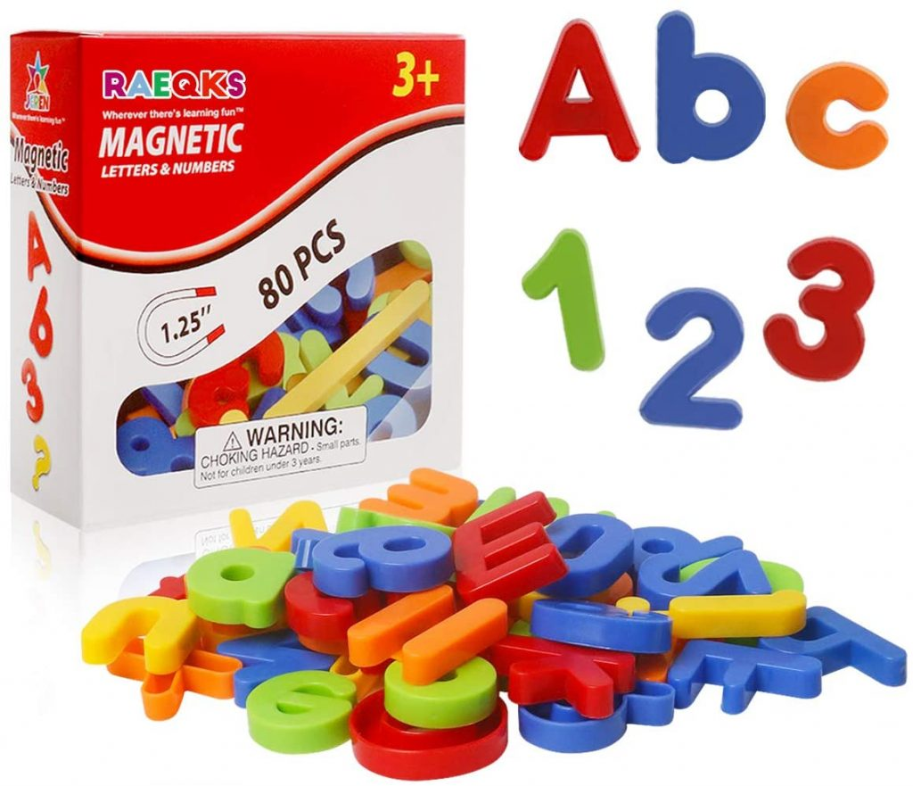 RAEQKS Magnetic Letters for Toddlers