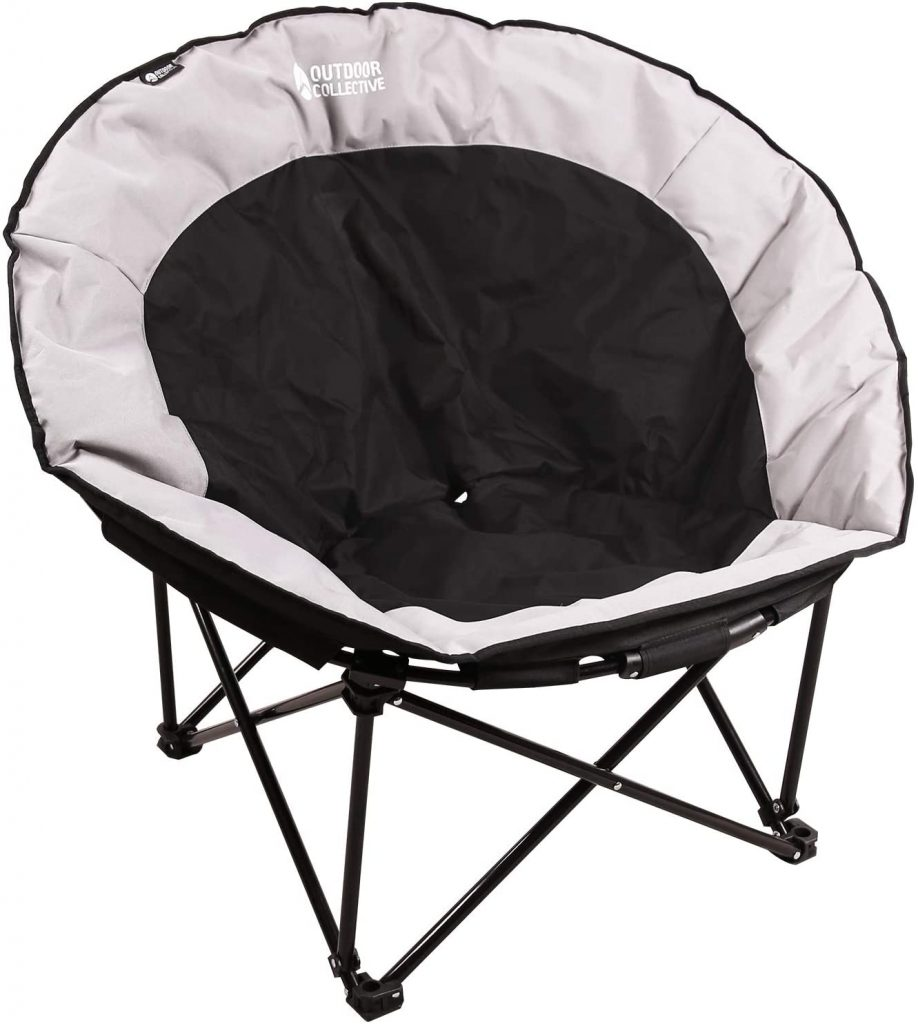 REDCAMP Oversized Chair with Comfy Portable Folding Feature