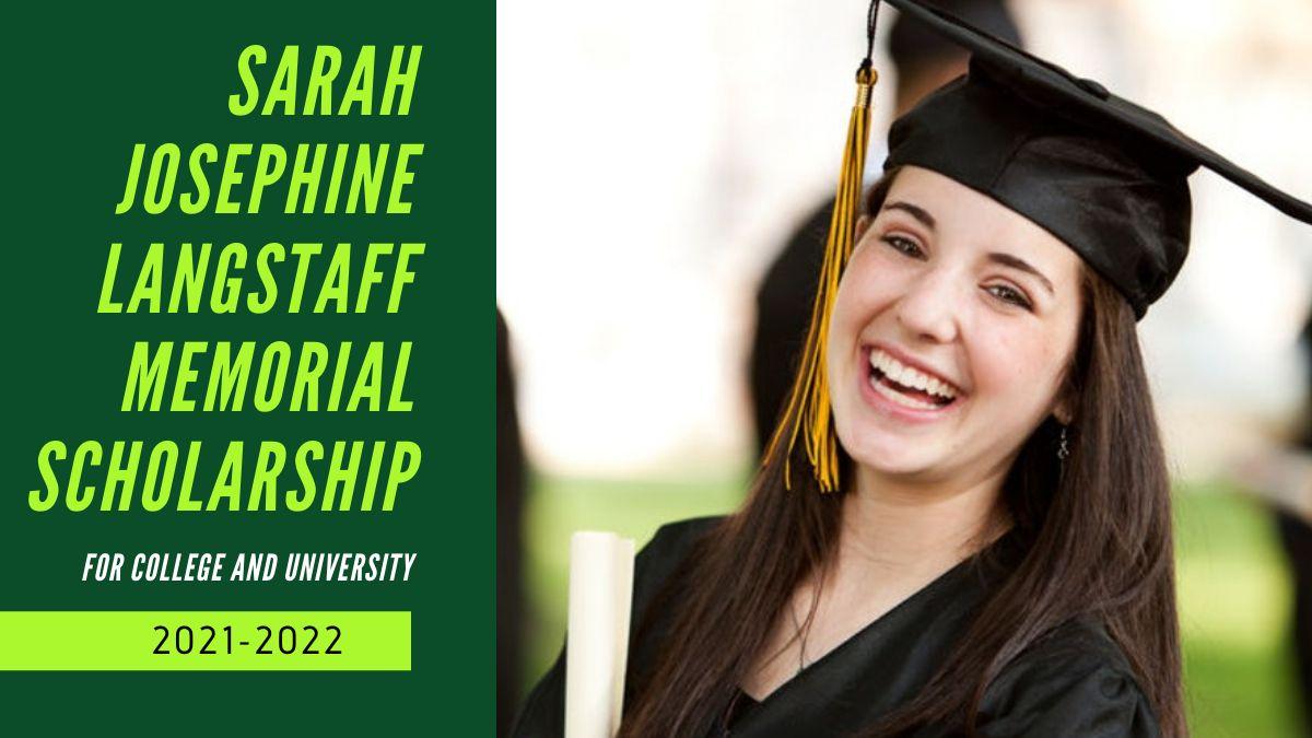Sarah Josephine Langstaff Memorial Scholarship
