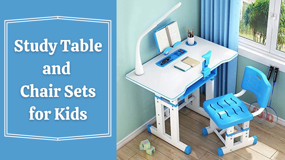 Study Table and Chair Sets for Kids