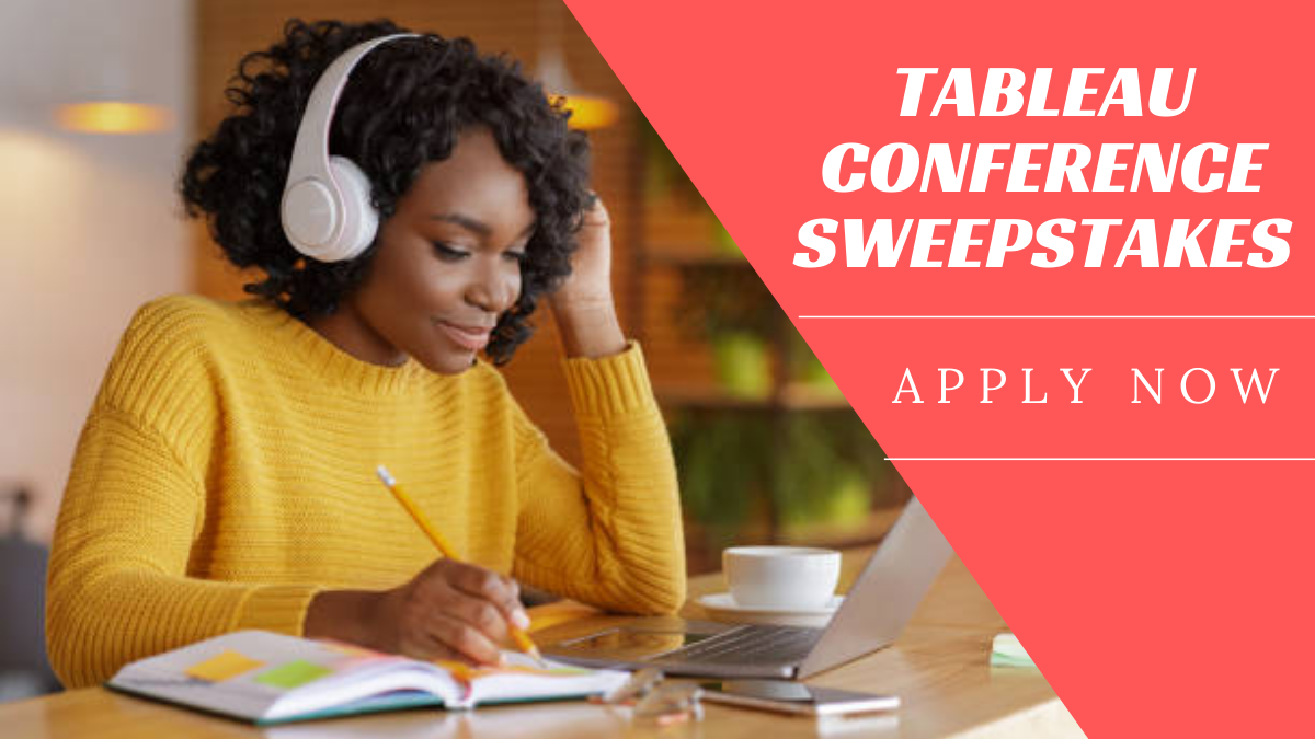 Tableau Conference Sweepstakes