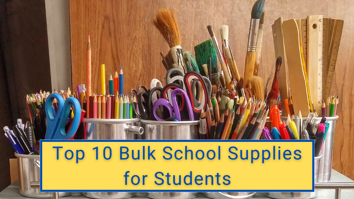 Top 10 Bulk School Supplies for Students