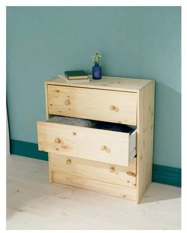 Unknwonmini Table with Three Drawers