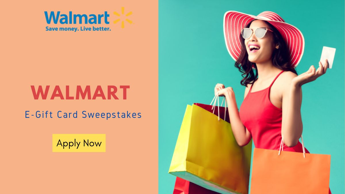 Walmart E-Gift Card Sweepstakes