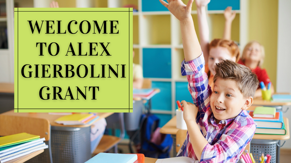 Welcome to Alex Gierbolini Grant