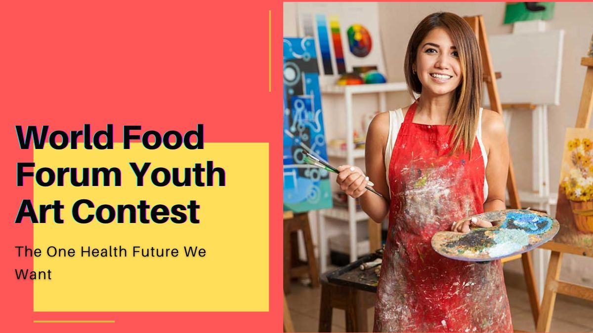 World Food Forum Youth Art Contest The One Health Future We Want