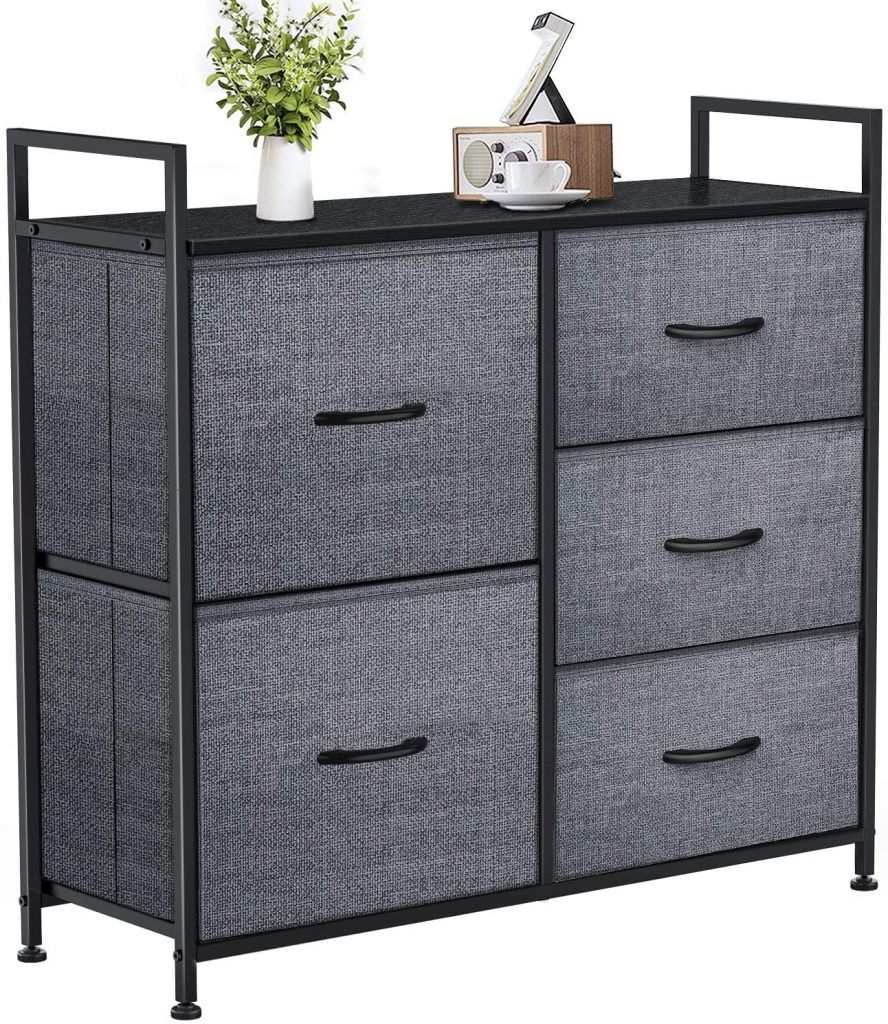 Yesker Dresser with 5 Drawers