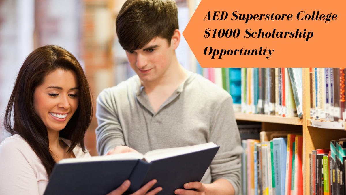 AED Superstore College $1000 Scholarship Opportunity