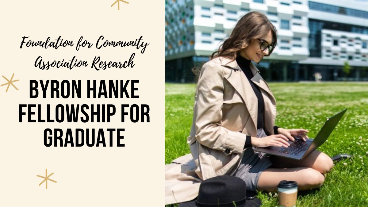 Byron Hanke Fellowship for Graduate