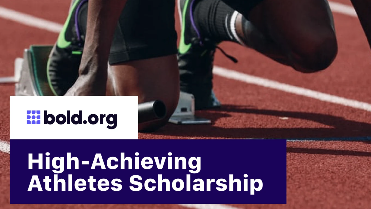 High-Achieving Athletes STEM Scholarship