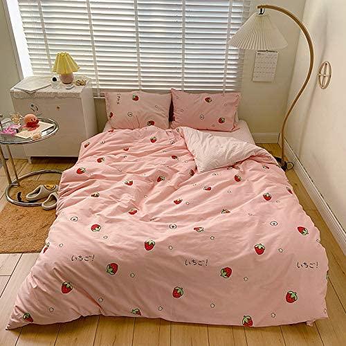 Toptree Girls Pink 100% Cotton Bedding set