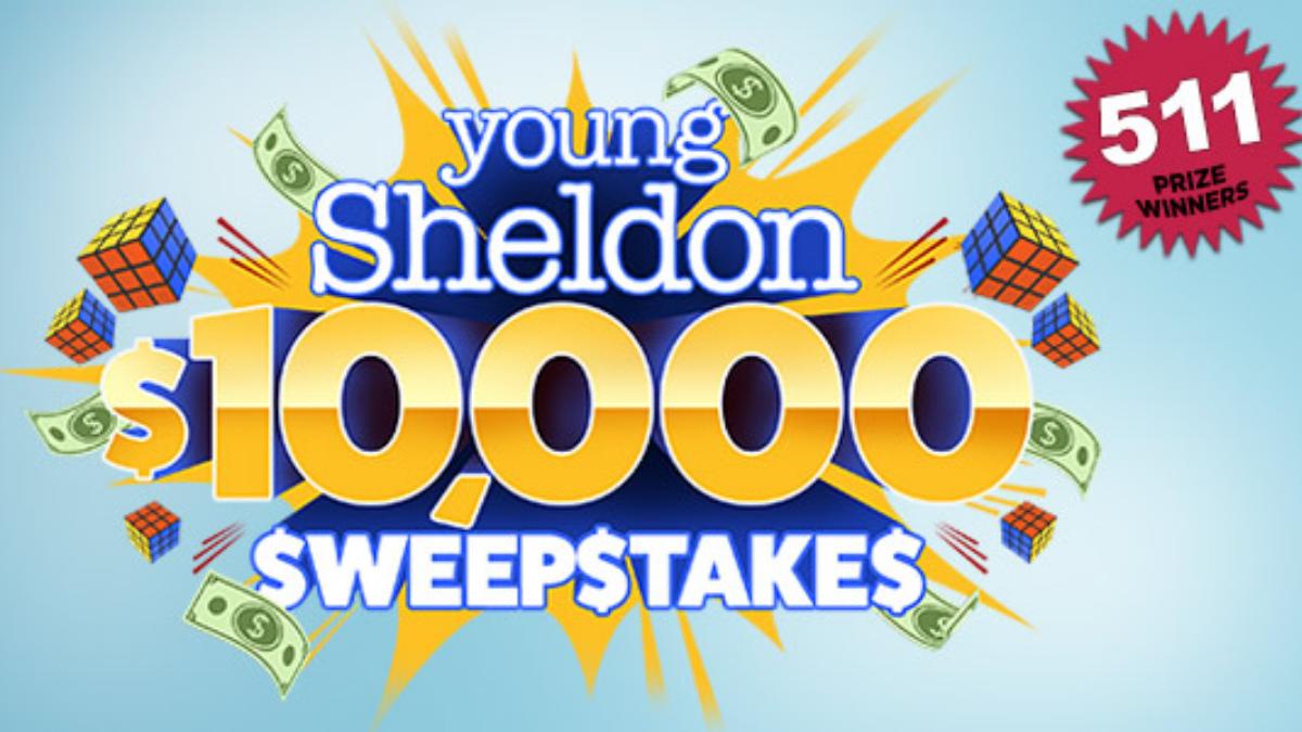 Young Sheldon $10,000 Sweepstakes