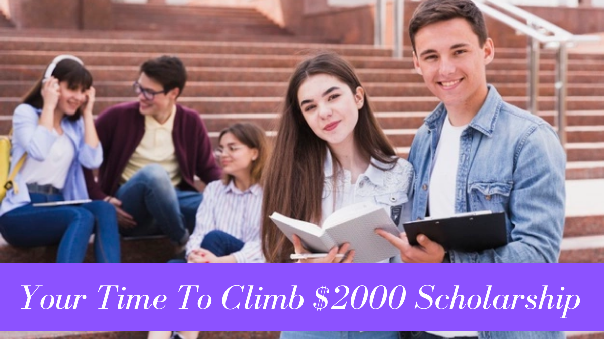 Your Time To Climb $2000 Scholarship