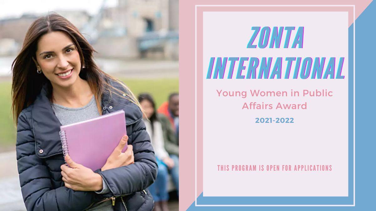 Zonta International Young Women in Public Affairs Award